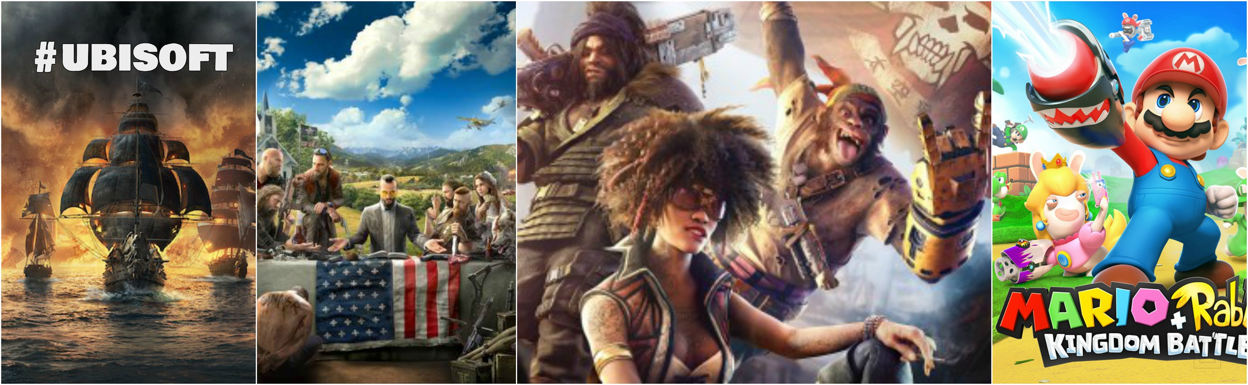 Far Cry 5, Beyond Good & Evil 2, Mario … E3 2017 – Ubisoft trailers