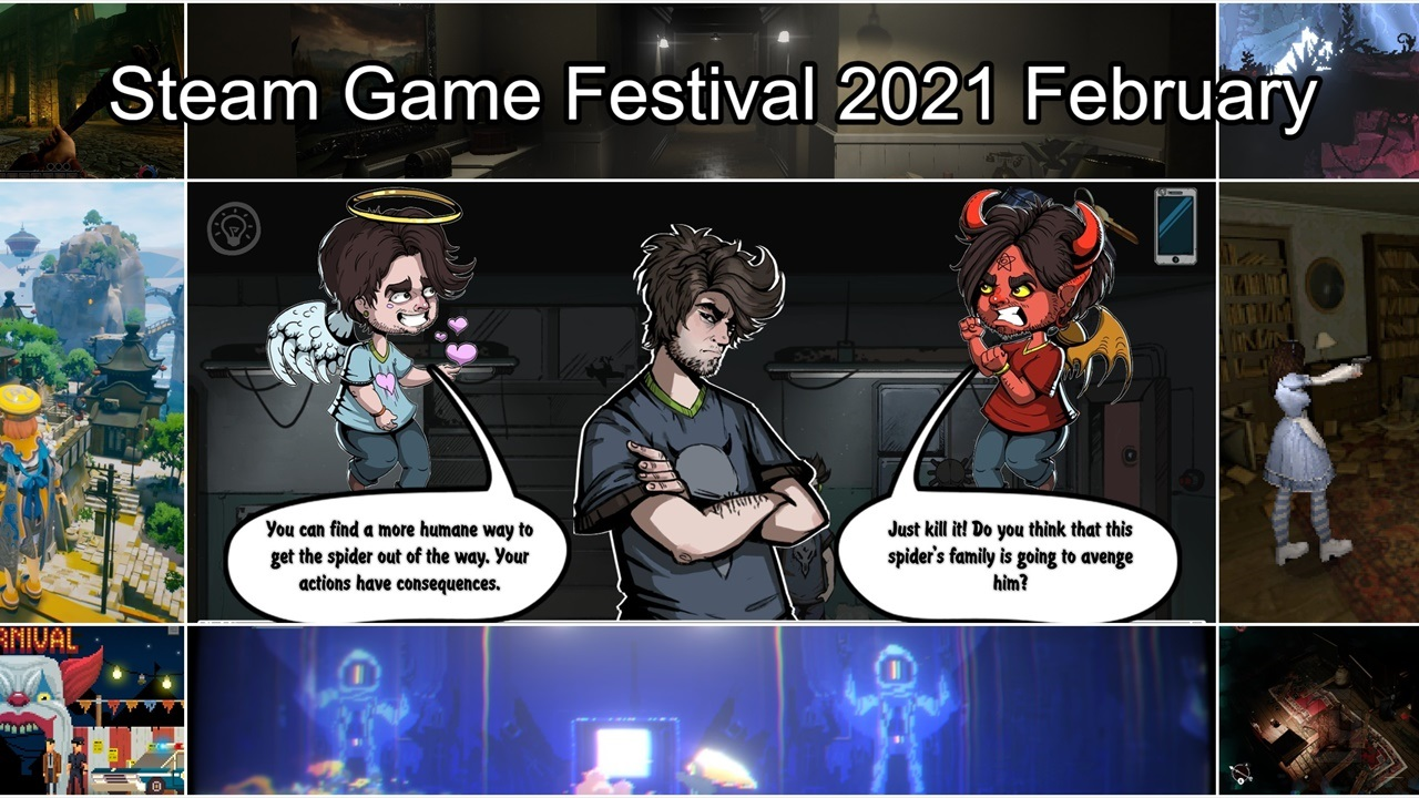 Steam Game Festival 2021 February – These are the indie game demos we tried