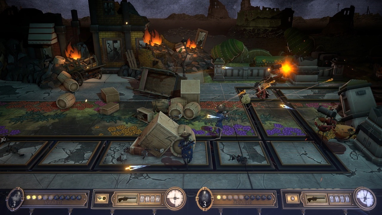 Steampunk shooter Bartlow's Dread Machine launches this July on Steam Early Access