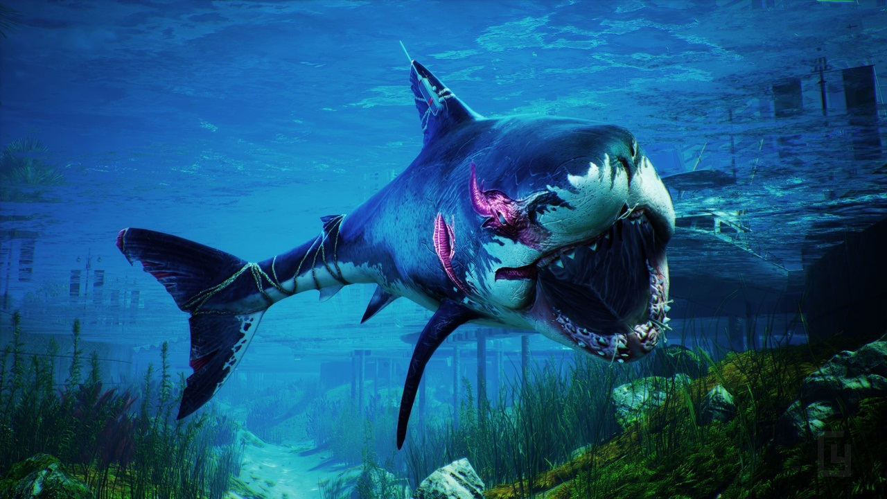 Become the one shark to rule them all in Maneater, coming May 22