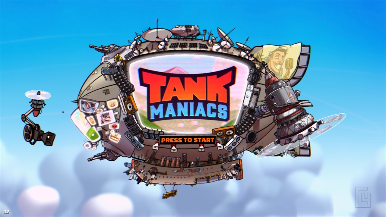Tank Maniacs – a fast-paced party game with tanks – Review