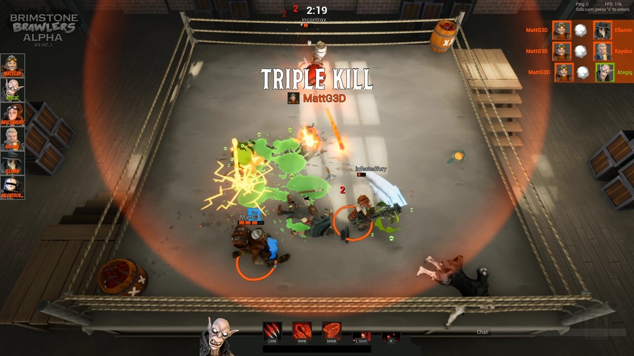 Victorian arena fighter Brimstone Brawlers goes free to play