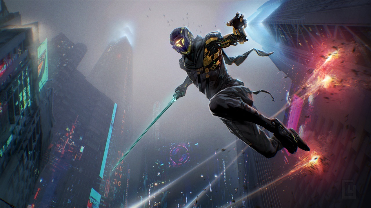 Cyberpunk parkour action game Ghostrunner gets October release date