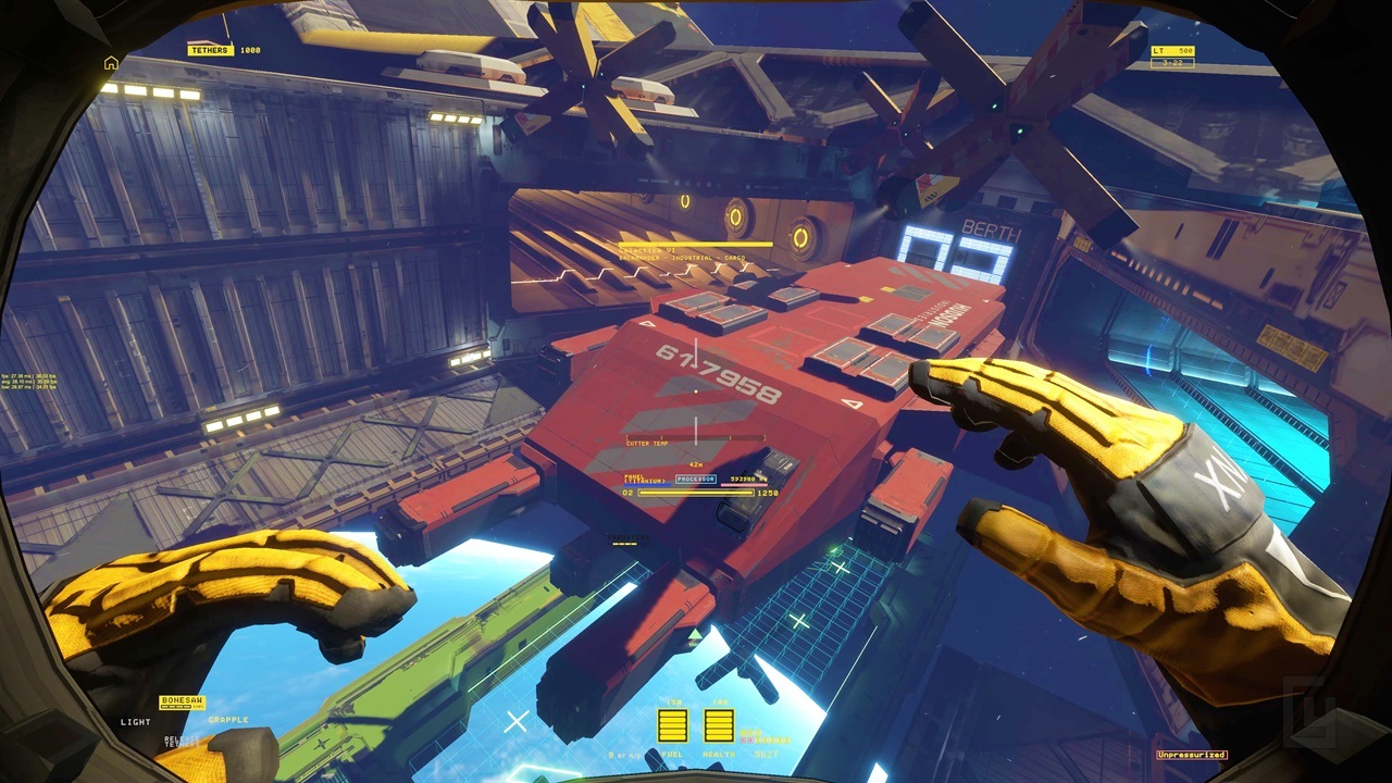 Hardspace: Shipbreaker is a game where you slice open and salvage abandoned space ships