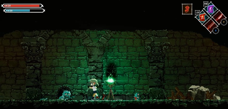 Anime-style Metroidvania game Lost Ruins launches Kickstarter campaign