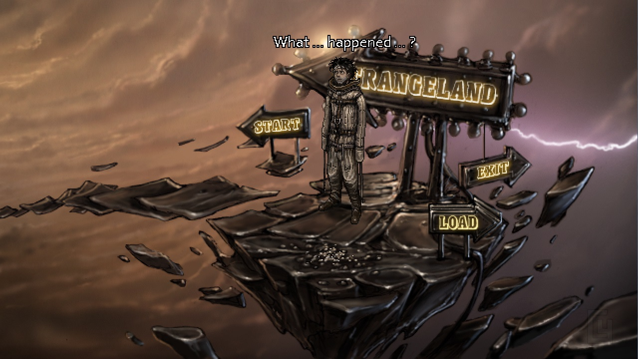 Primordia devs return with a new point & click adventure called Strangeland
