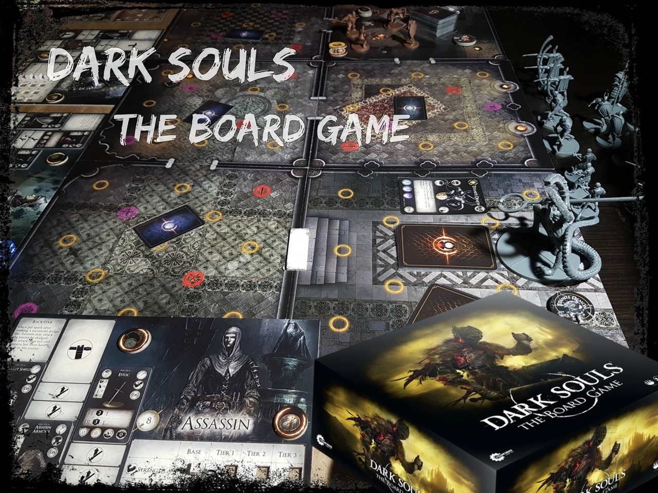 Dark Souls: The Board Game – thoughts from a board game beginner