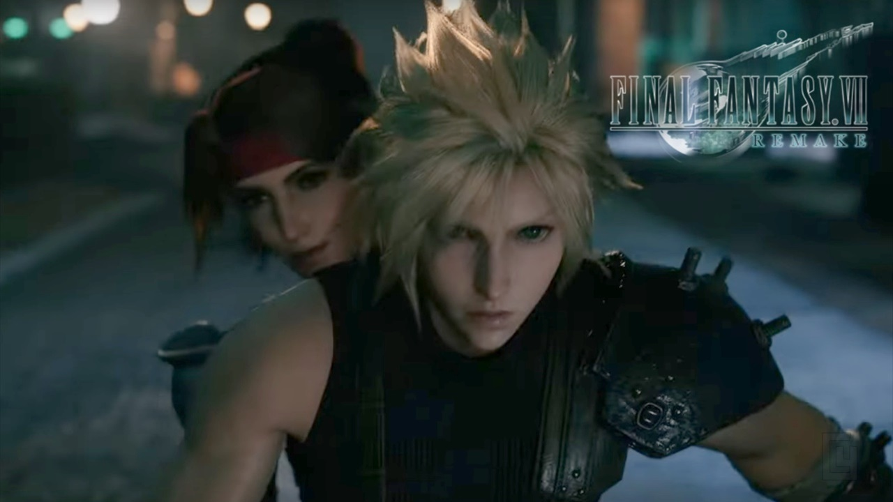 Final Fantasy VII Remake's latest trailer has action, minigames, frogs