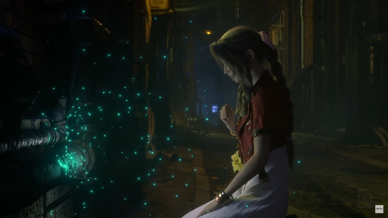 Have a look at Final Fantasy VII Remake's entire opening movie