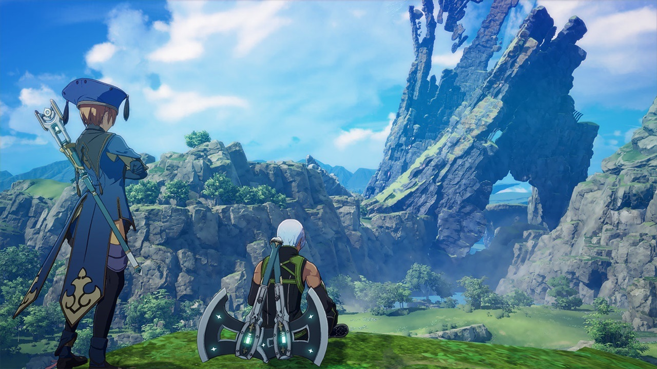 Anime-like online action-RPG Blue Protocol shows off its colorful world with a trailer