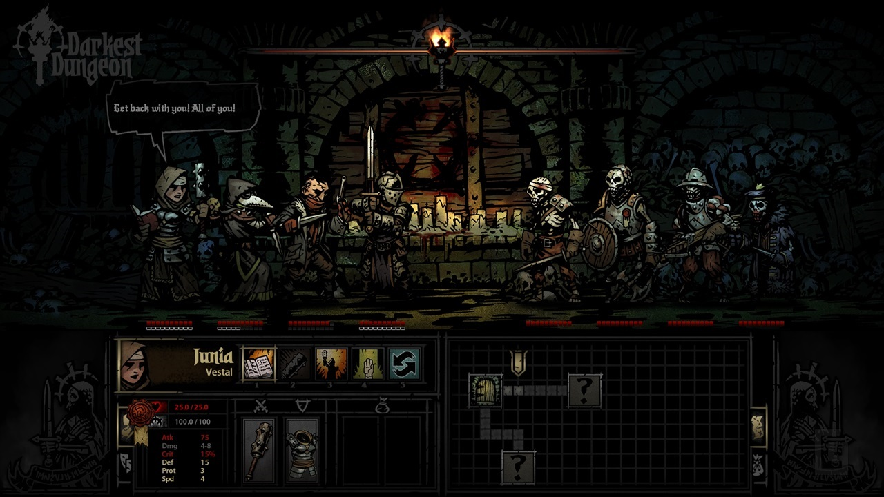 Darkest Dungeon – psychological terror and madness of adventuring