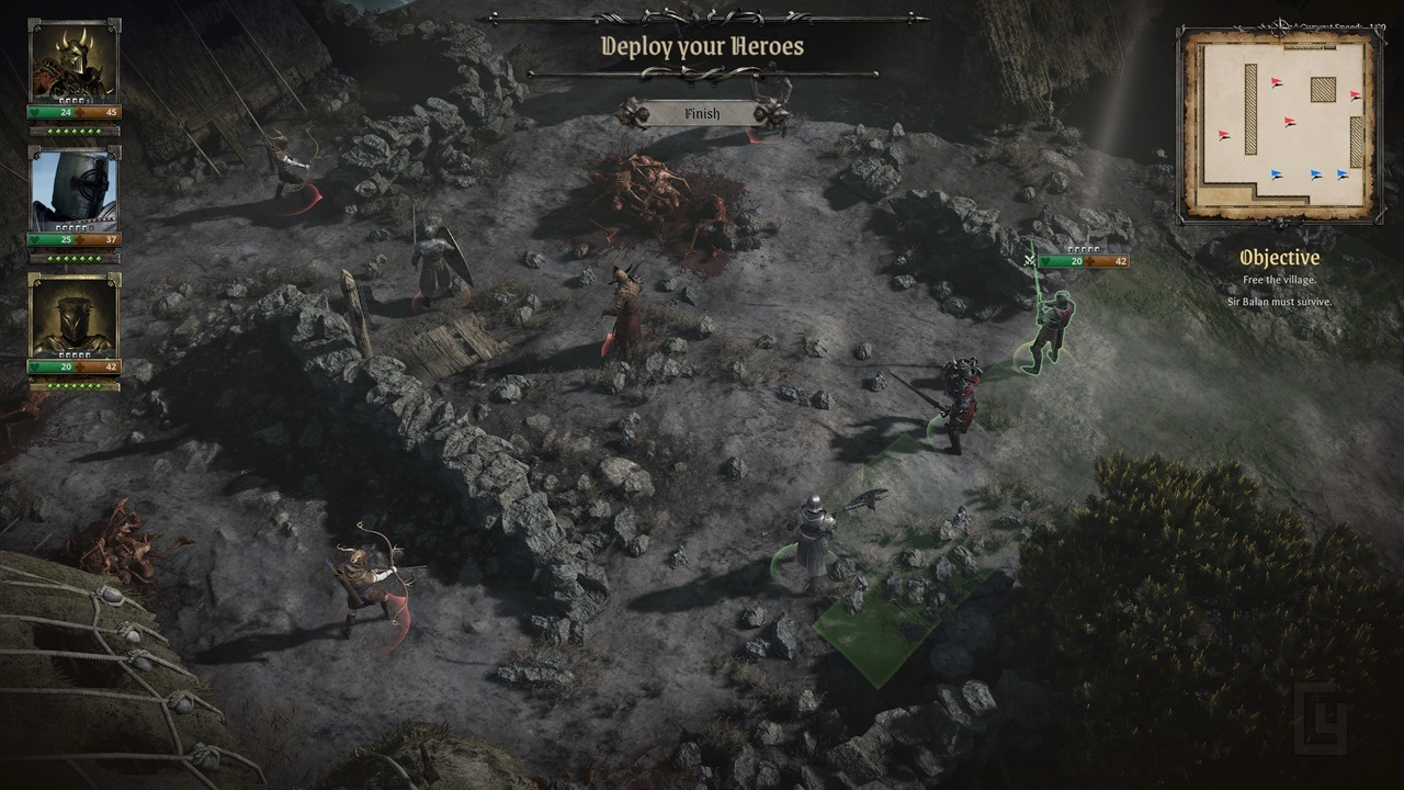 Dark fantasy tactical RPG King Arthur: Knight's Tale launches Kickstarter campaign