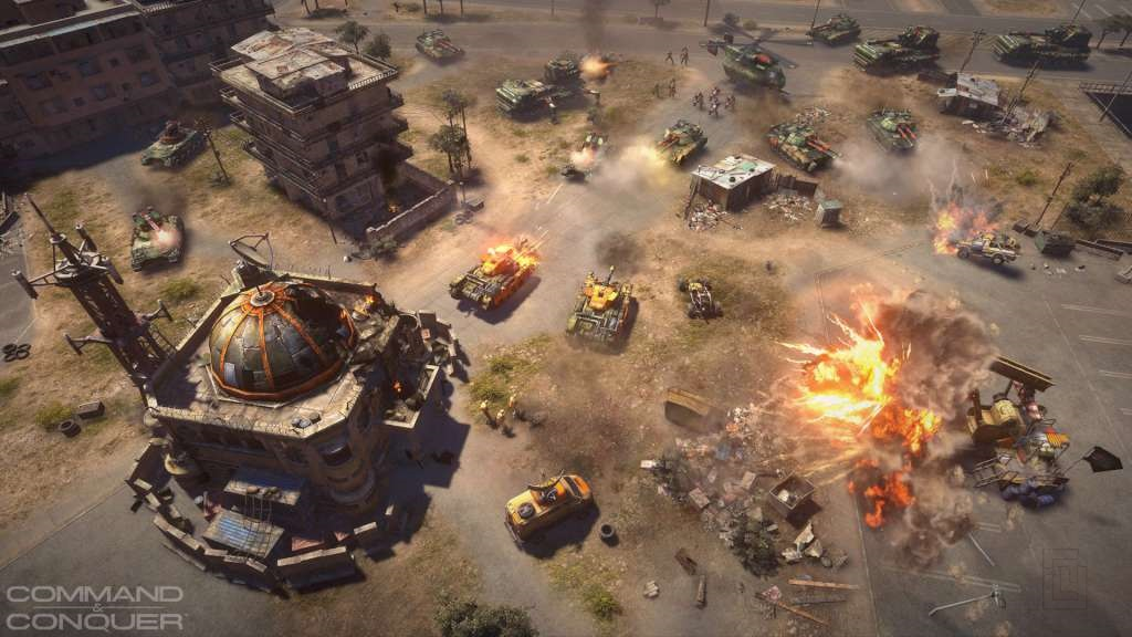 EA is exploring the possibility of remastering Command & Conquer