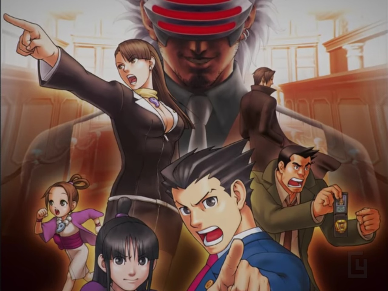Ace Attorney Trilogy announced for PS4, Xbox One, Switch and PC